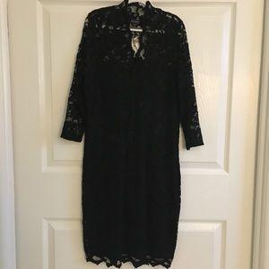 Karen Kane Black Lace Dress